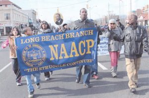 Youth Marching in MLK day parade