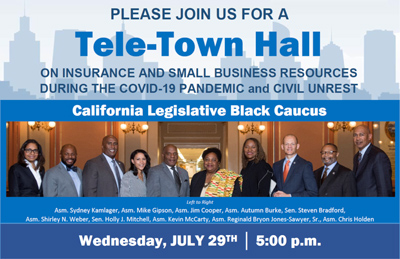 Tele-Town Hall California Legislative Black Caucus