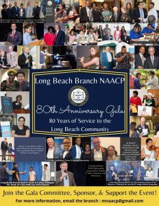 Long Beach Branch NAACP 80th Anniversary Gala Postponed