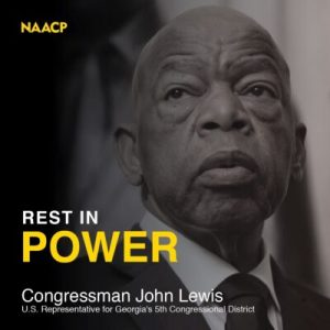 NAACP Mourns the Death of Civil Rights Icon, Congressman John LewisThe NAACP