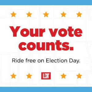 FYI: Free Bus Service on Election Day