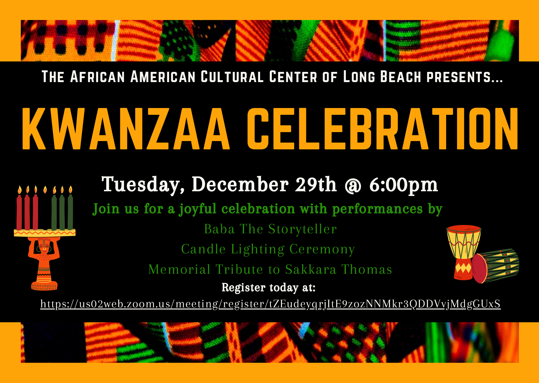 Kwanzaa Celebration Long Beach