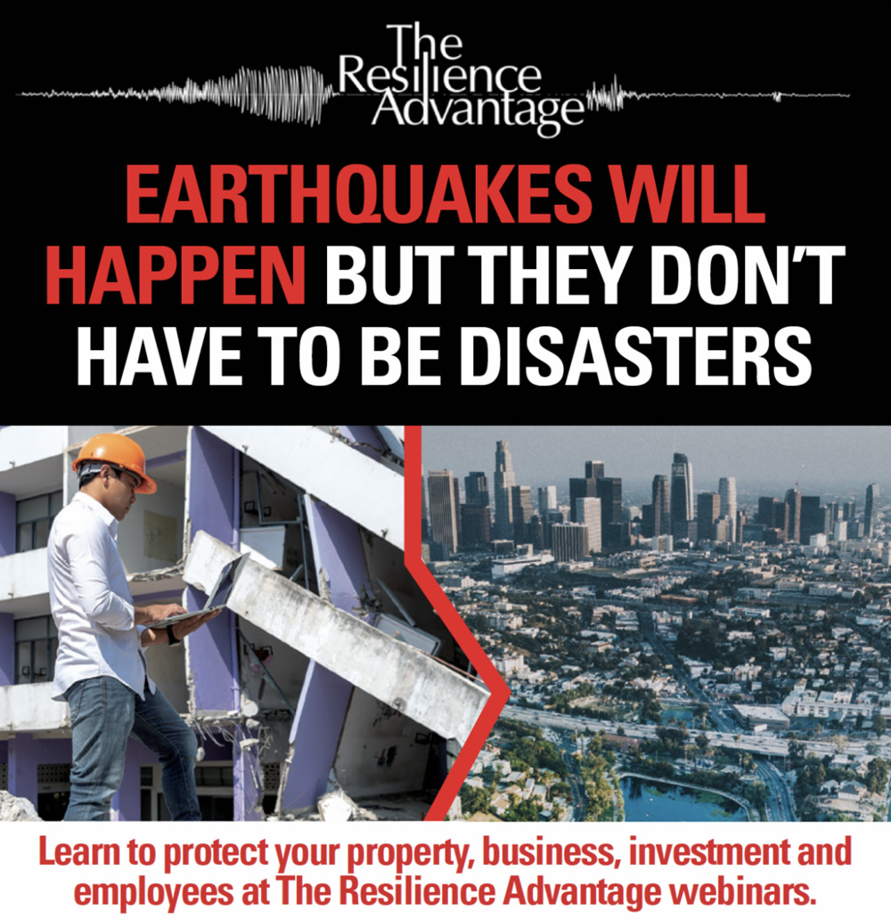 Earthquakes will happen but they don't have to be disasters