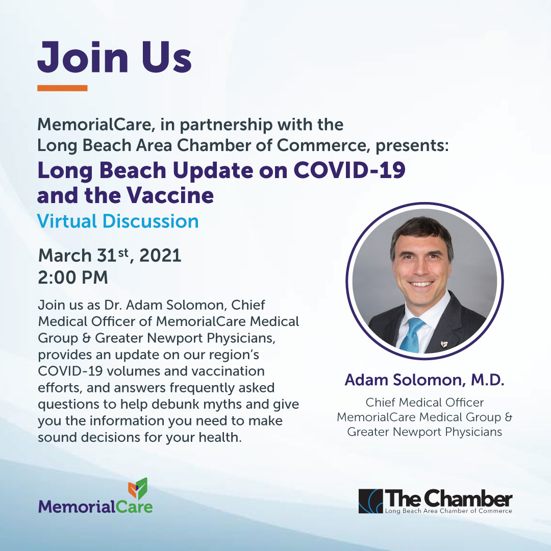 Long Beach Update on COVID-19 Chamber of Commerce
